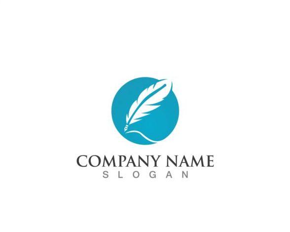 pen logos feather company