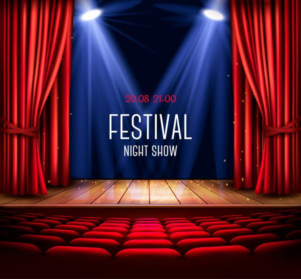 rouge Rideau légers festival