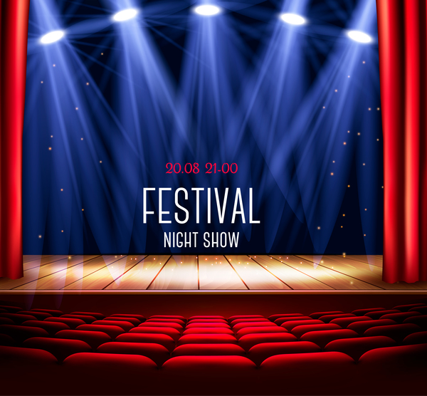 tenda rosso luce festival