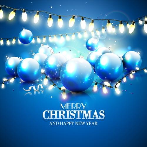 Weihnachten Neu Laternen Jahr festlich