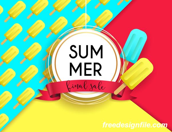 Verkauf Sommer poster final
