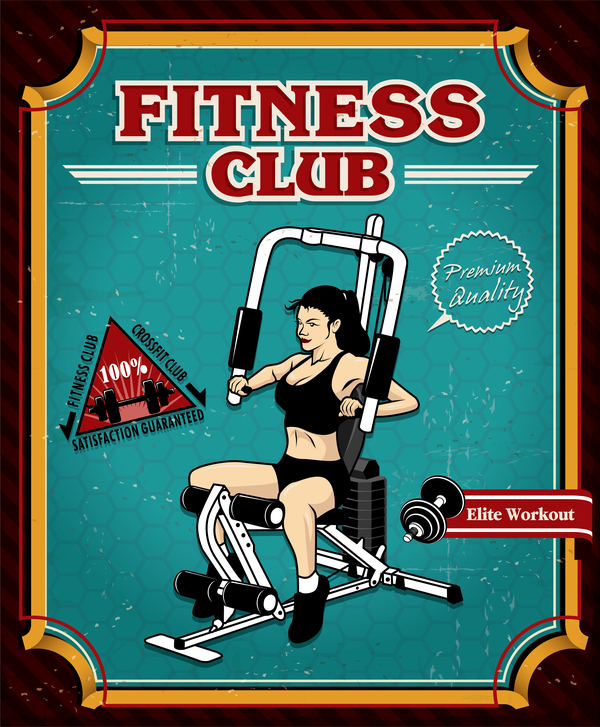 poster fitness club
