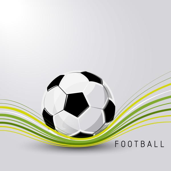 sport football ball Abstrait