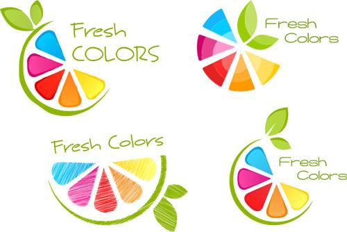 logo fresh colors