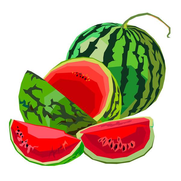 Wassermelone Reife Frische saftige