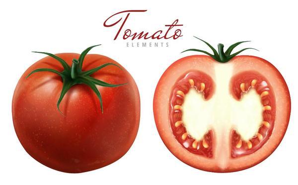 tomat slice Färska