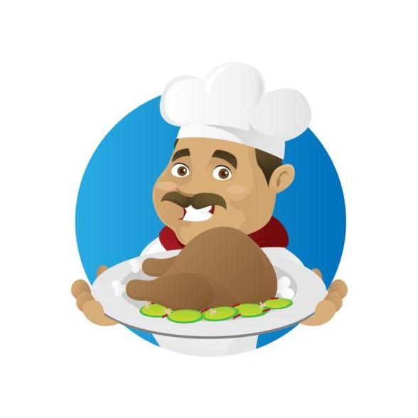 sign rolig Matlagning Kock