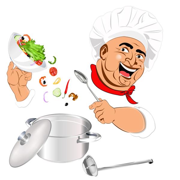 Lo chef divertente