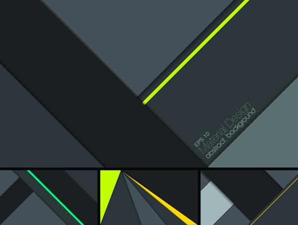 layered geometric abstract