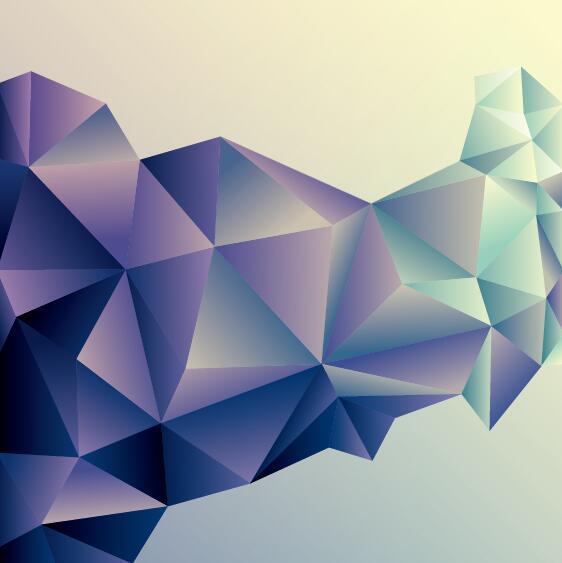 polygoner geometriska Abstrakt