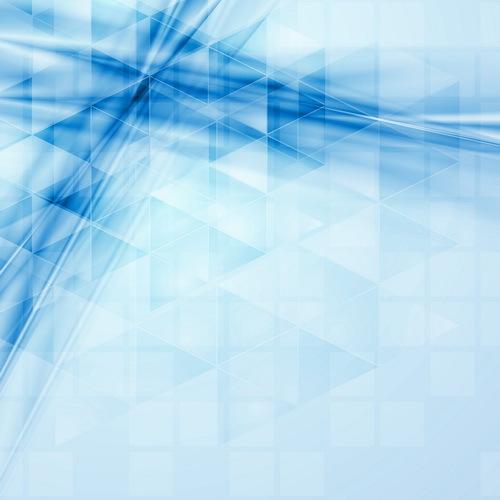 、抽象的な、青、ジオメトリ、波状