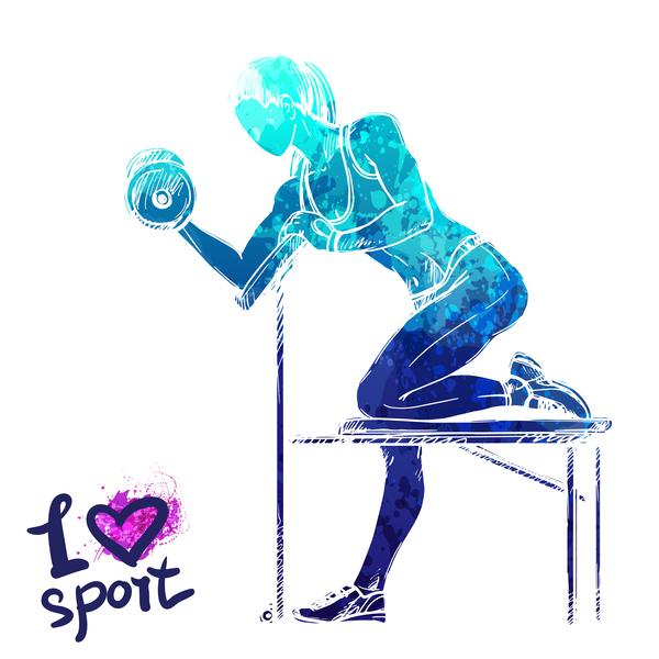 愛 女の子 スポーツ