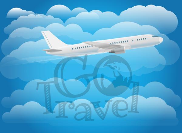 Reisen Flugzeug