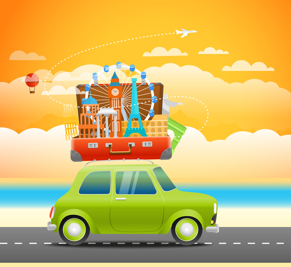 vacation travel car