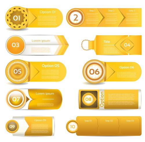 hemsida guld gul business banderoller