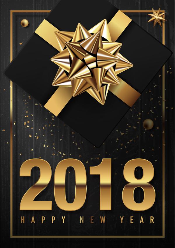 木製 年 ゴールデン カード イチイ 、2018 年ブラック