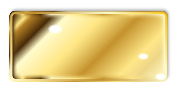 Tegel Metall golden dyrbara
