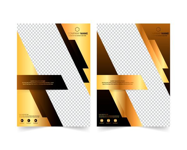 golden coprire brochure azienda