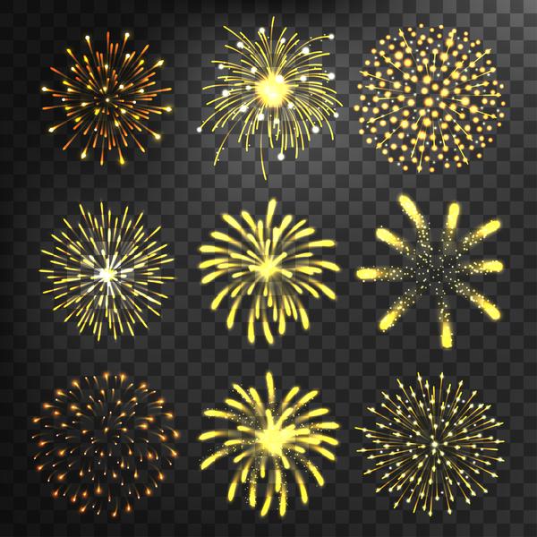 golden Feuerwerk