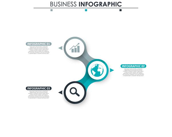 青 灰色 インフォグラフィック