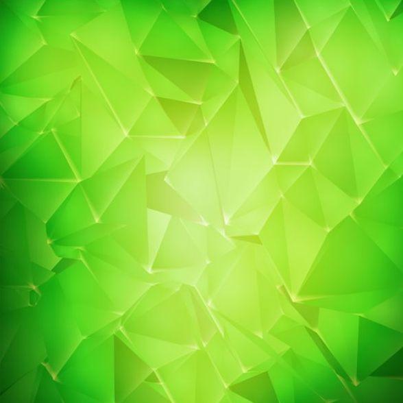polygon grün Geometrische