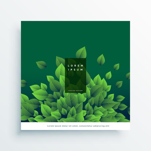 täcka grön blad