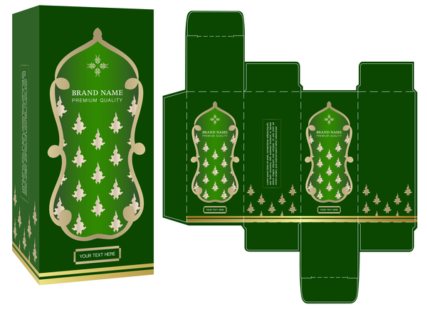 vert pakeage boîte