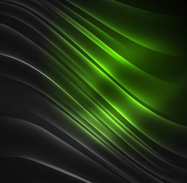 vert polaire lumières