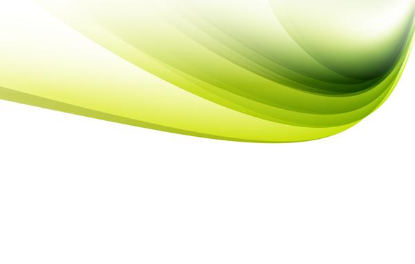 verde ondulato linee astratto