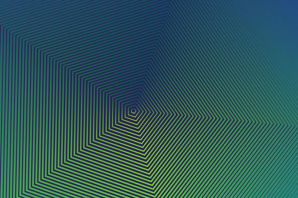 lignes gradient Géométriques demi-teinte