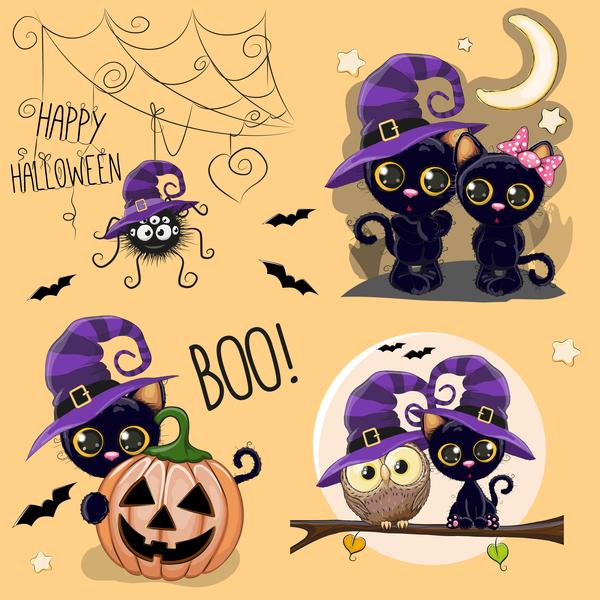 halloween cartone animato carino Animale