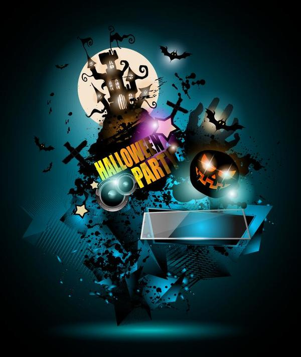 party halloween flyer