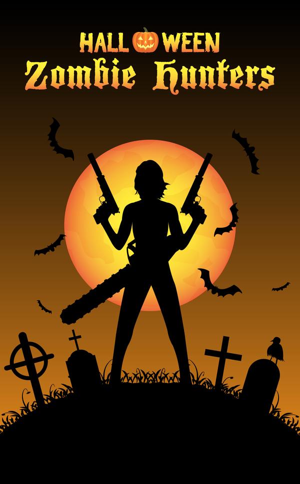zombie poster jager halloween