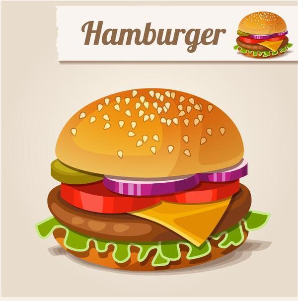 hamburger food fast