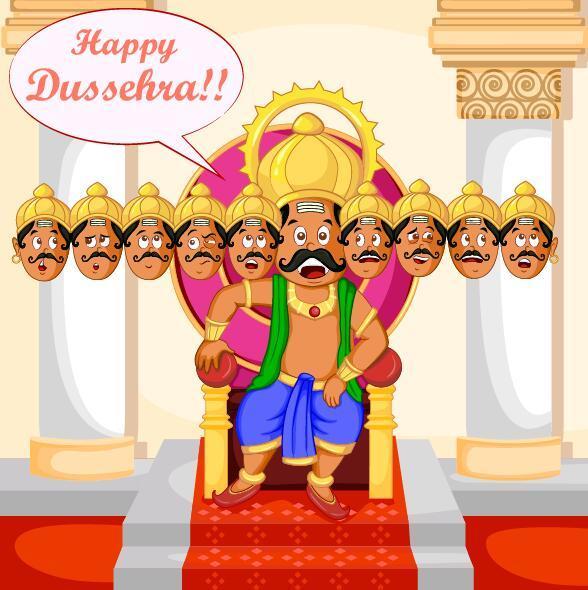 、これ Dussehra、祭り、幸せ