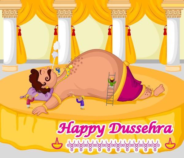 heureux festival dussehra