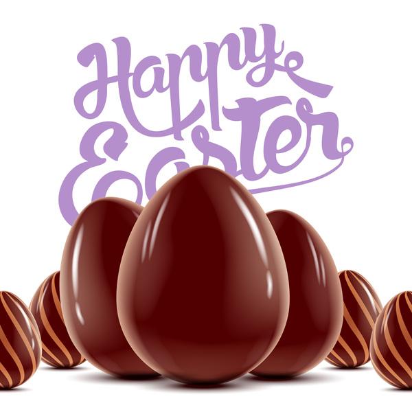 happy eggs easter chocolate
