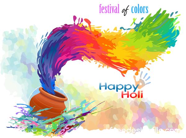 、色、祭、ハッピー、ホーリー