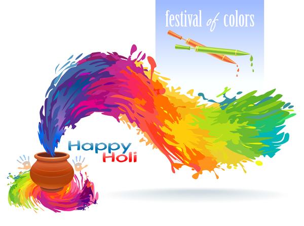 holi happy festival color