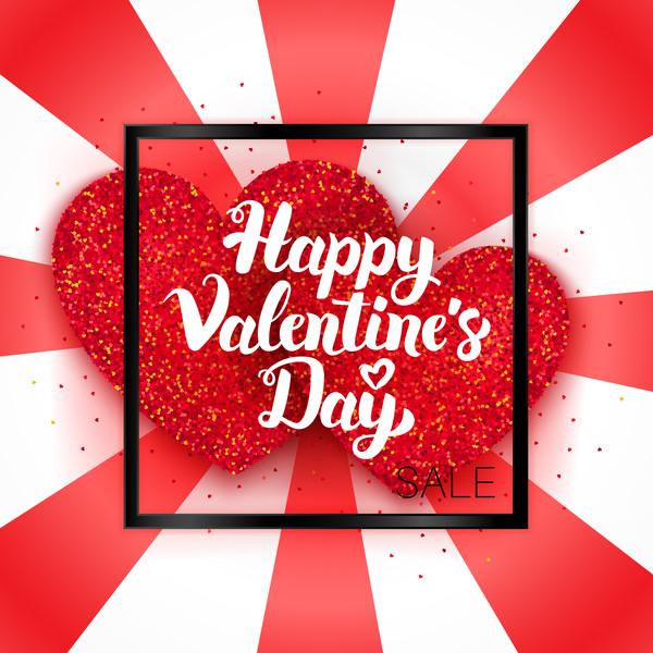 San Valentino sale card giorno felice