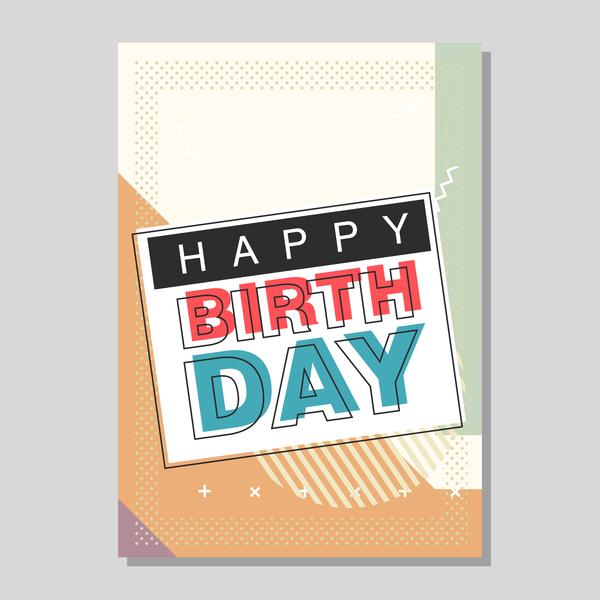 happy Geburtstag flyer cover Broschüre