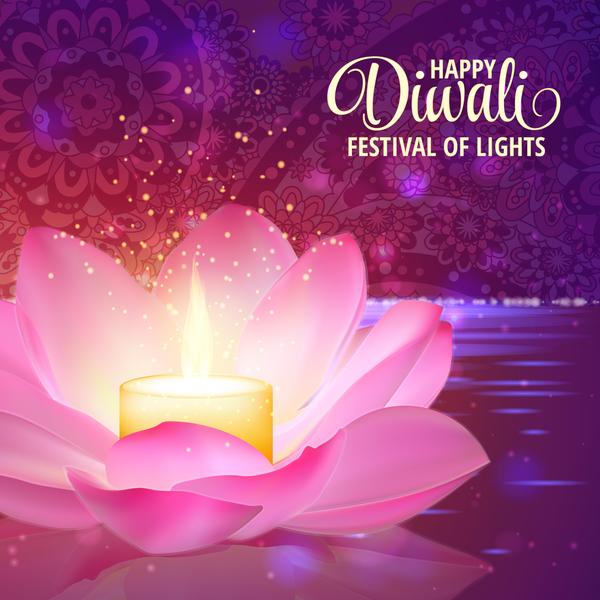 light happy fete Diwali