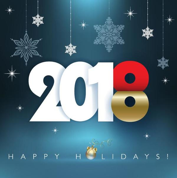 、2018、幸せ、holiady、新しい年