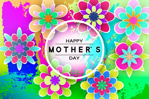 madre giorno Fiore felice