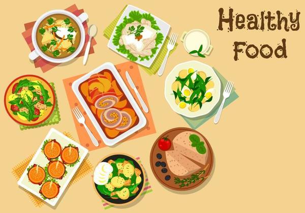 Santé plat nourriture