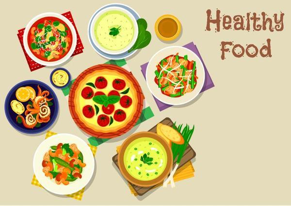 Wohnung gesund Essen