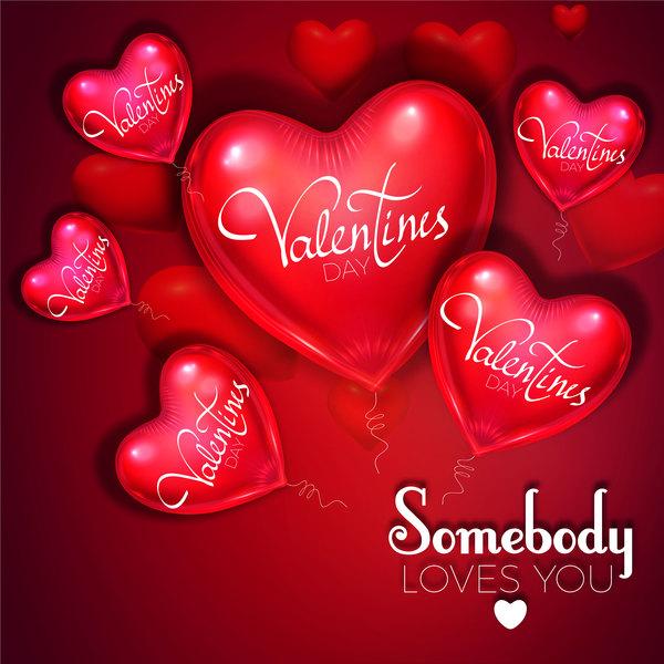 valentine hjärta form ballong