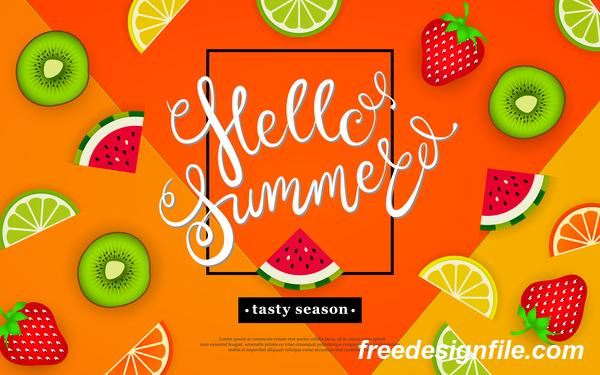 tropisch Sommer lecker Jahreszeit Hallo Früchte