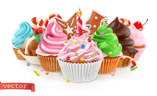 Urlaub süß Kuchen dessert
