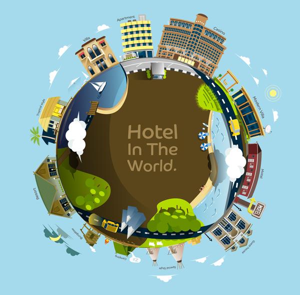 världen Hotellet